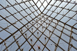 Lines in the Pyramid at the Louvre