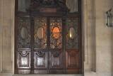 Large Brown Doors