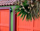 Colorful California Garage Door