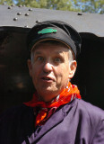 NICHOLAS OWEN, broadcaster and occasional footplate man.