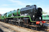 Bluebell Railway - Naming Ceremony for 34059