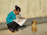 Practising for the Beijing Olympic
