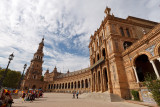 La Place d'Espagne - Sevilla  More pictures from Sevilla here