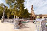 La Place d'Espagne (Plaza de España en castillan)