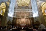 La cathédrale - Retable de la grande chapelle