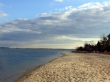 Beach on James and sky