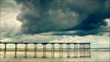 Clouds: Saltburn Pier.