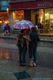 Rainy days in Quebec City