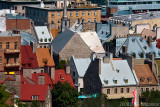 Roofs of Lower Town Quebec