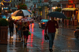 Rain on Rue St-Jean, Quebec City
