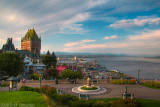 Quebec, Port and St Lawrence River, HDR