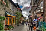 Quebec City, Petit Champlain, HDR