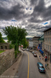 Streets of Old Quebec City, HDR
