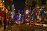 Yonge Street, Toronto, Christmas