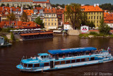 Vltava West Bank.,Little Venice, Prague