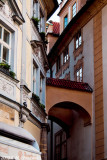 On Small Streets of Old Prague