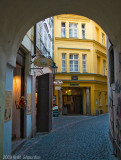 Passages of Old Town Prague