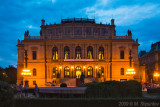 Rudolfinum, Prague at Night