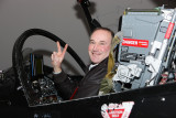 Mike in the Flight Simulator