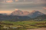 The Moelwyn range from Criccieth