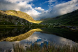 Reflection on Llyn Cwmorthin