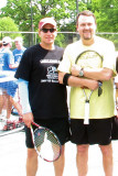 Tennis Great Richie Reneberg and Mike