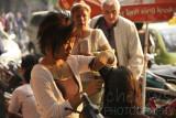 Street hairdresser