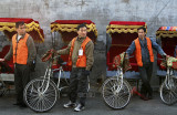 Trishaws waiting, Beijing