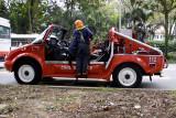 Civil Defense Fire truck