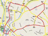 2009 KL Criterium : The route