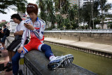 Texting by the river