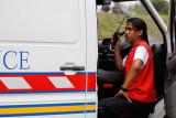 Paramedic on duty