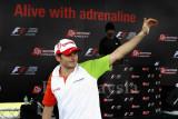 Team Force India's Giancarlo Fisichella