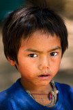 Young boy, Laos border town