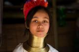 Padong long neck hill tribe