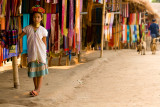 Padong girl at her stall