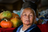 Vegetable seller at the Hmong Market