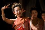 Finger nail dance, Chiang Mai, Thailand