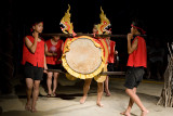 Lahu hill tribe dance
