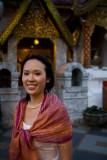 Sher Li at Wat Phrathad Doi Suthep