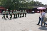 Platoon leaving