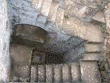 Stairs to the jail