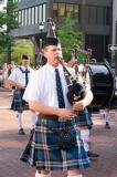 Bagpipes came to Greenville SC
