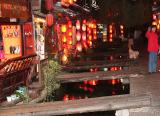 Old Town Center Of Lijiang At Night (Dec 05)
