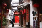 A Street In Lijiang Old Town (Dec 05)