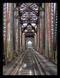 The Railroad tracks over the Cumberland River
