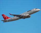Northwest Airlink (Compass Airlines) Embraer-175-200LR (N612CZ)