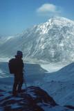 Steve Warwick above Cwm Idwal 1985
