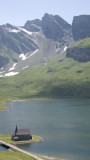 Chapel and lake - Melchsee-Frutt