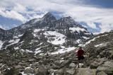 SD in boulder field - Susten Pass